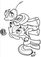 Kolorowanki My Little Pony Kucyki Do Wydruku