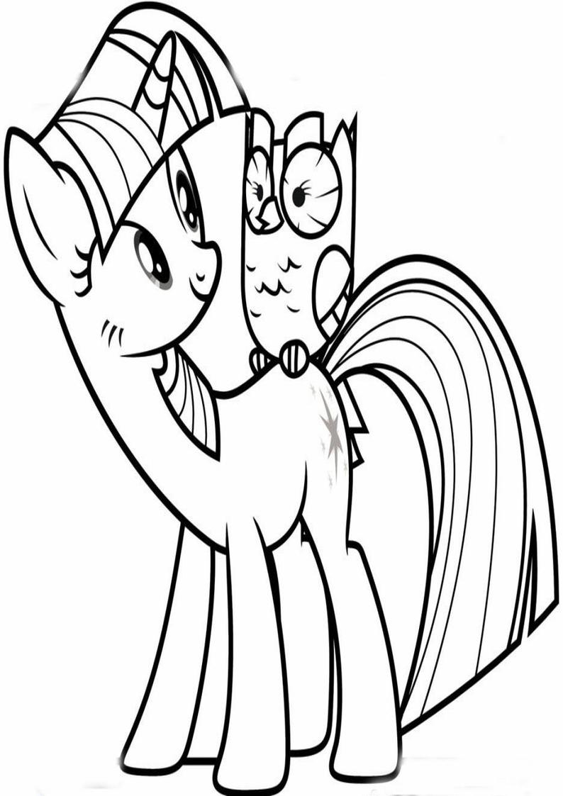 Twilight Sparkle Kolorowanka My Little Pony Nr 15
