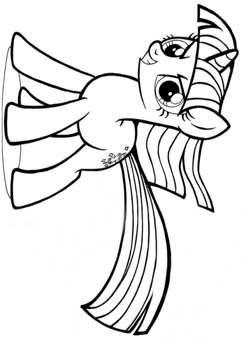 Twilight Sparkle Kolorowanka My Little Pony Nr 8