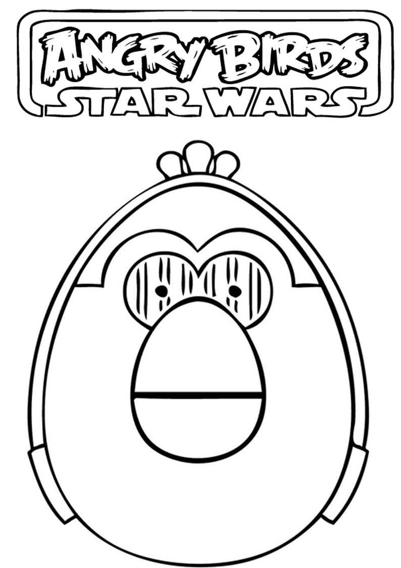 Do Wydruku Kolorowanka Angry Birds Star Wars 22