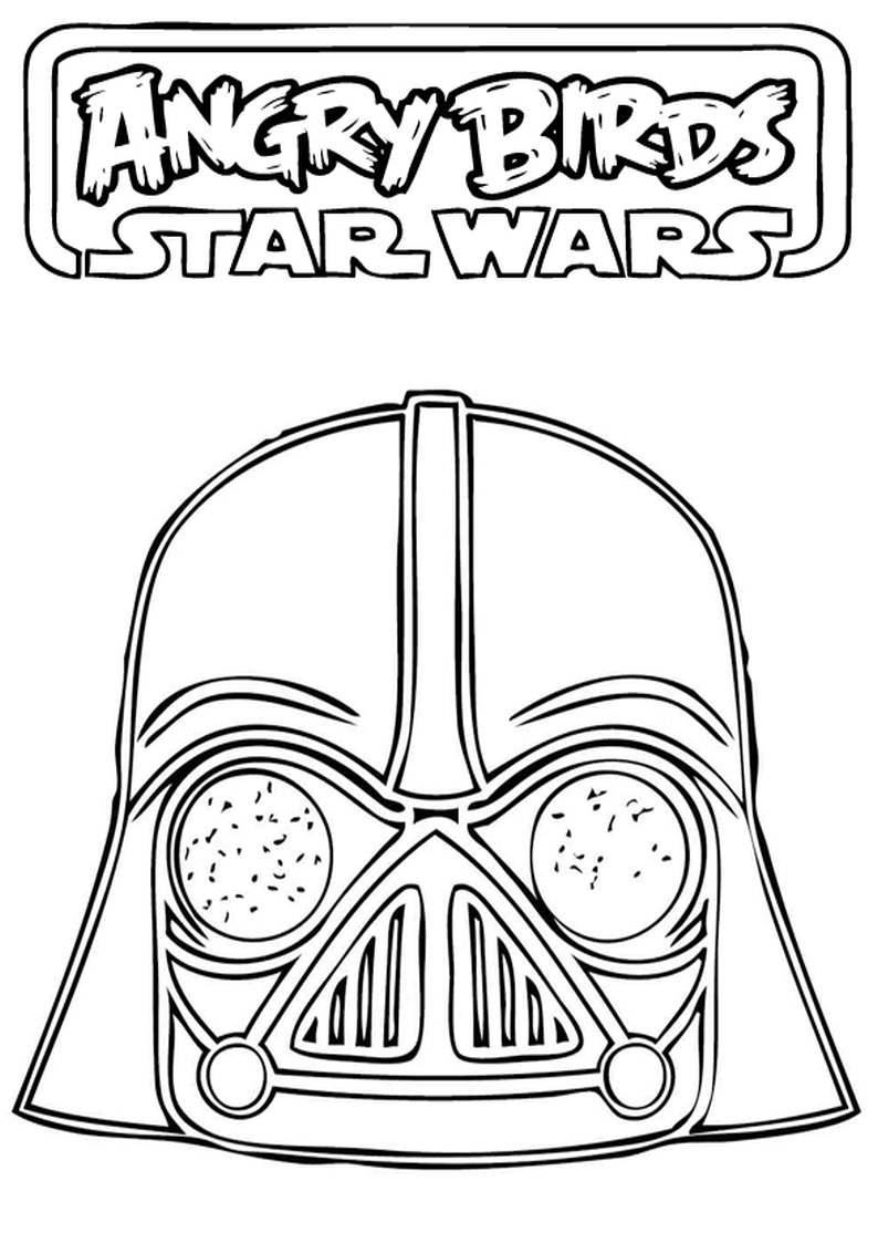 Do Wydruku Kolorowanka Angry Birds Star Wars 23