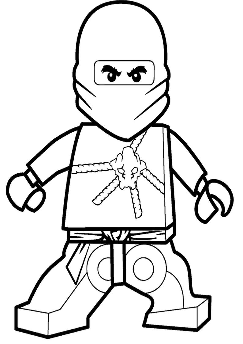 Lego ninjago coloring pages lego ninjago coloring pages - Kolorowanka Lego Ninjago Cole Malowanka Nr 2
