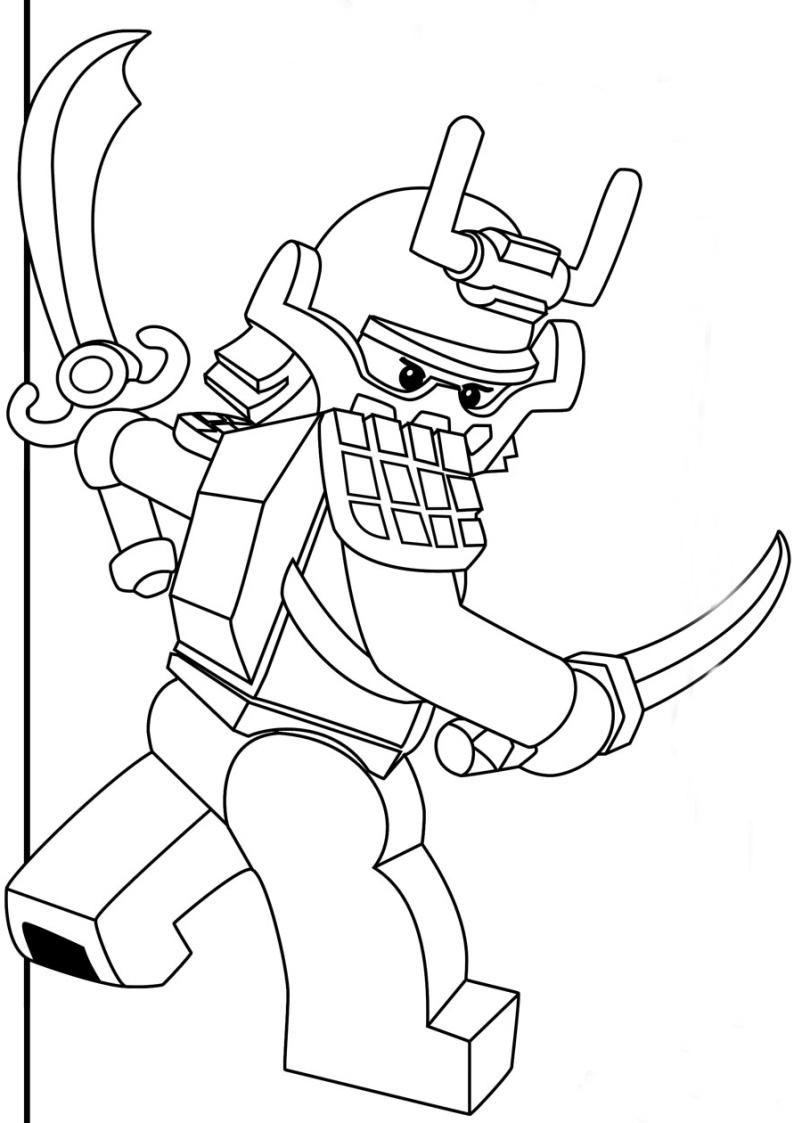 kolorowanka lego ninjago malowanka nr 71