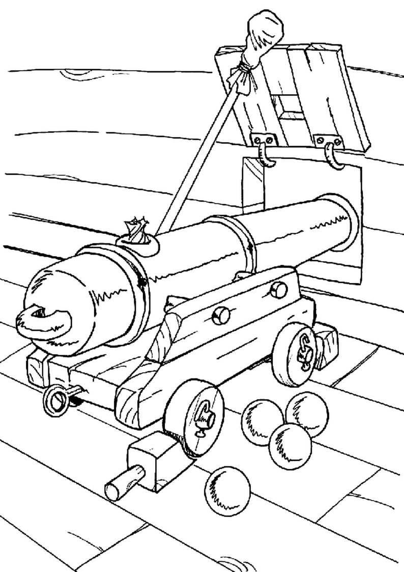 do wydruku kolorowanka piraci dla dzieci 31