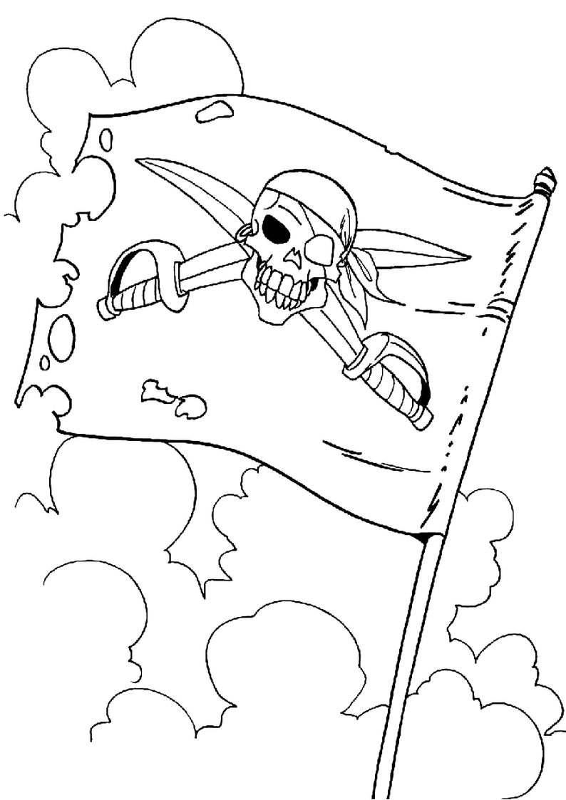 do wydruku kolorowanka piraci dla dzieci 49