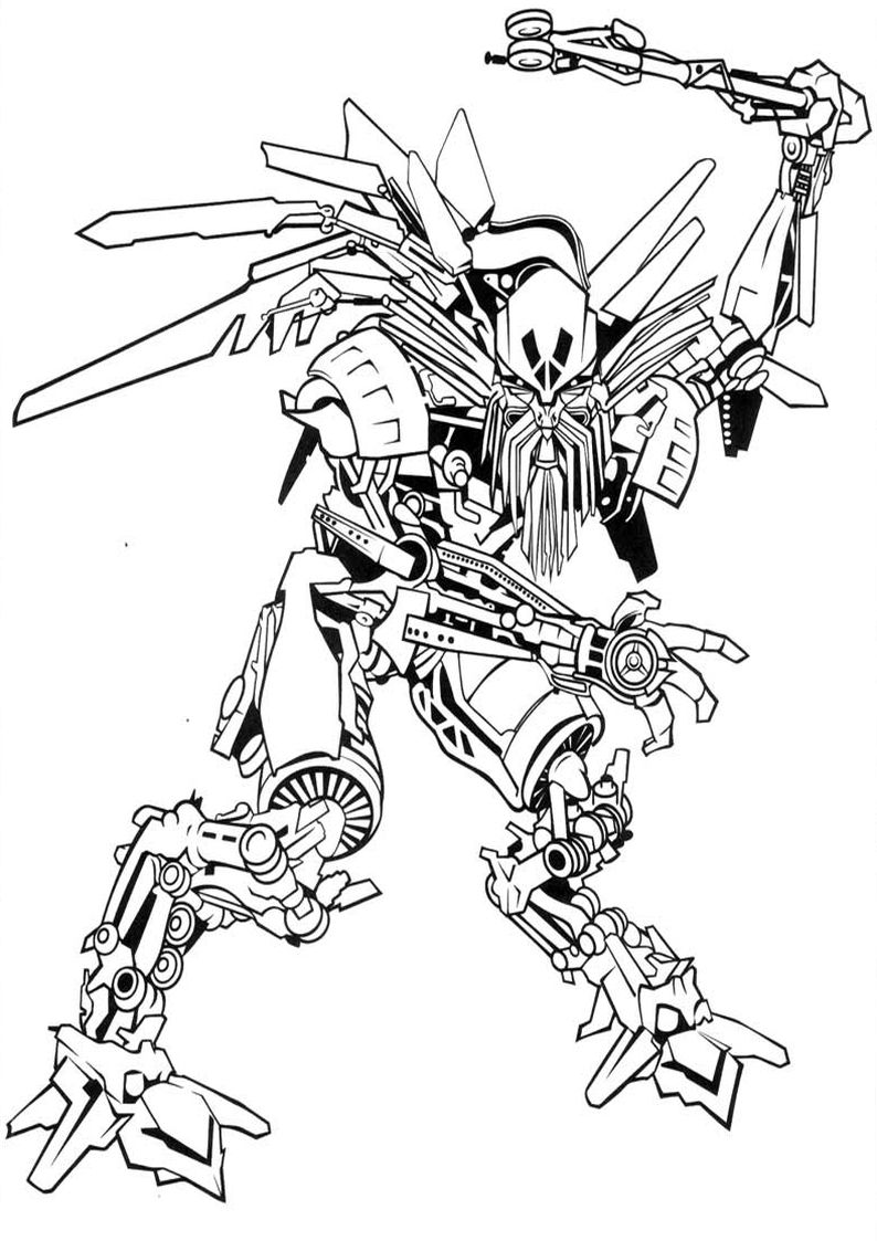 Age Of Extinction Bumblebee Coloring Pages