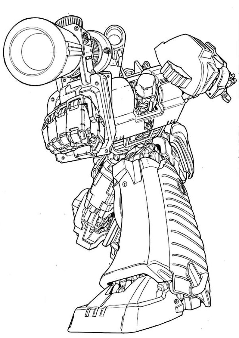 green grimlock coloring pages - photo#26