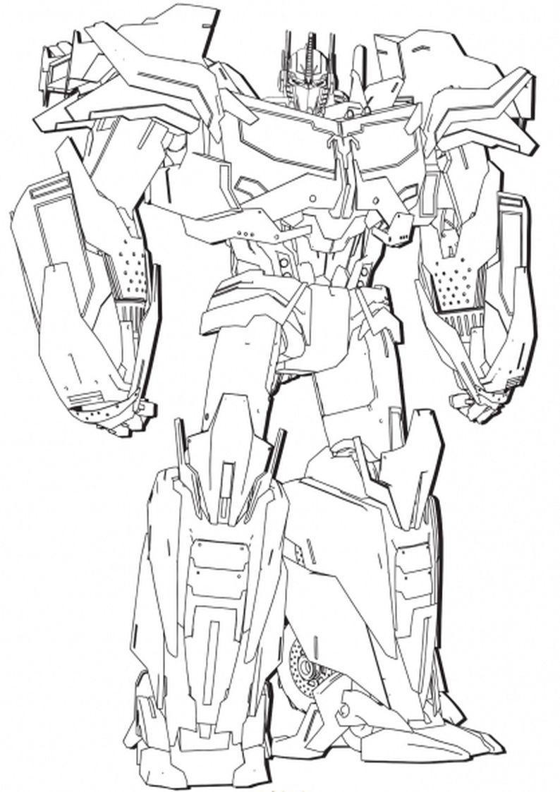 Kolorowanki Transformers Malowanka Do Wydruku Nr 26