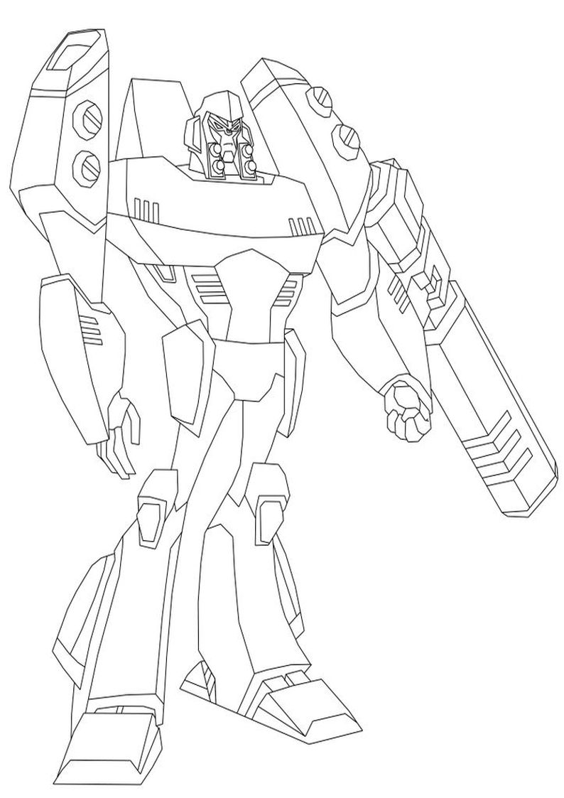 transformer gears coloring pages - photo#50