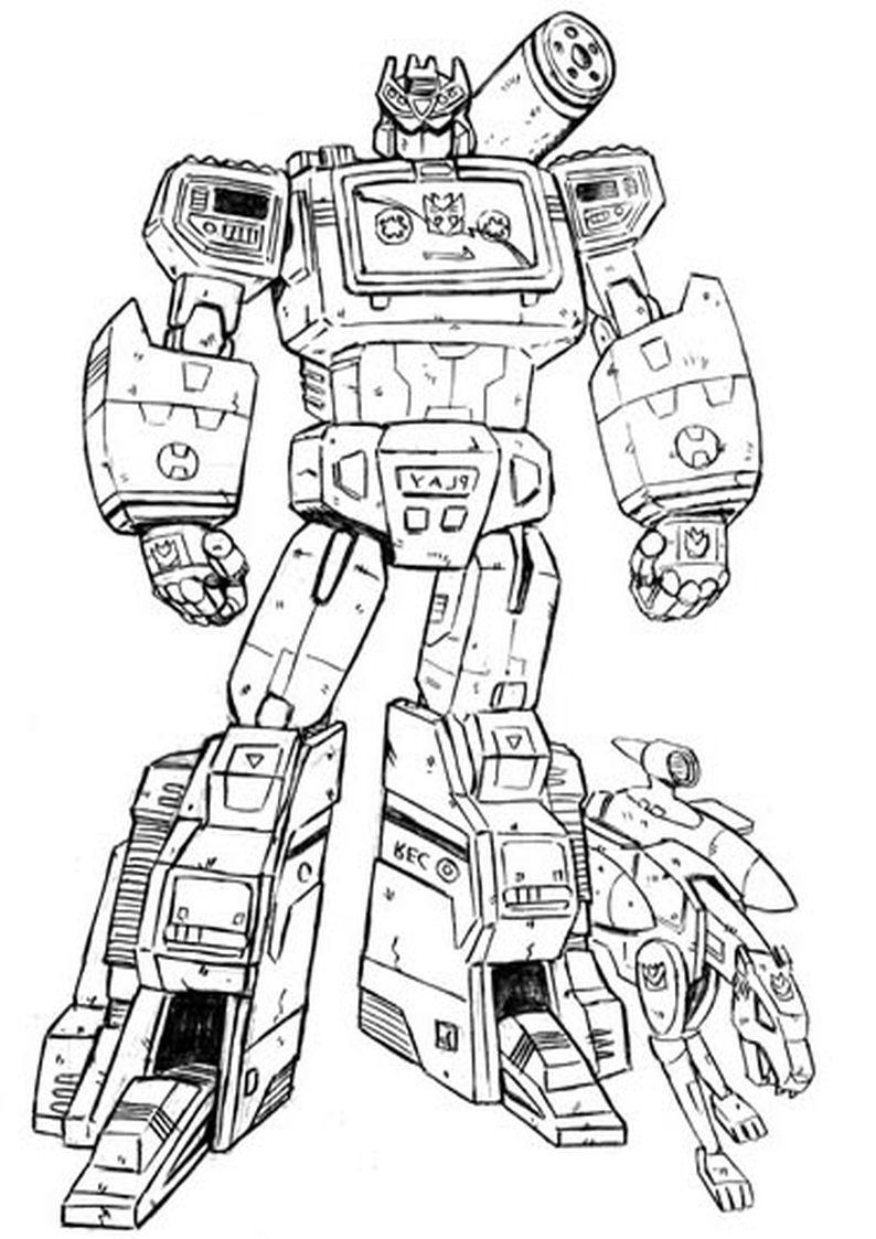 Kolorowanki Transformers Malowanka Do Wydruku Nr 63