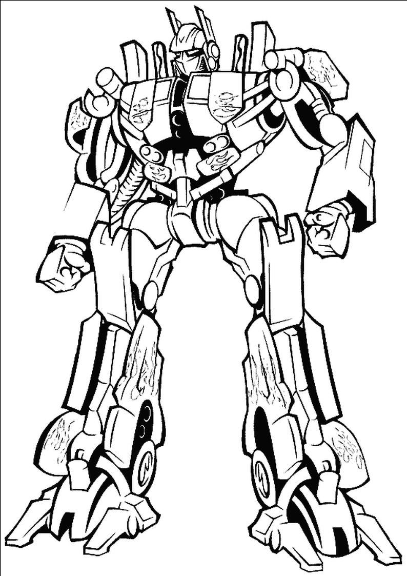 Kolorowanki Transformers Malowanka Do Wydruku Nr 64