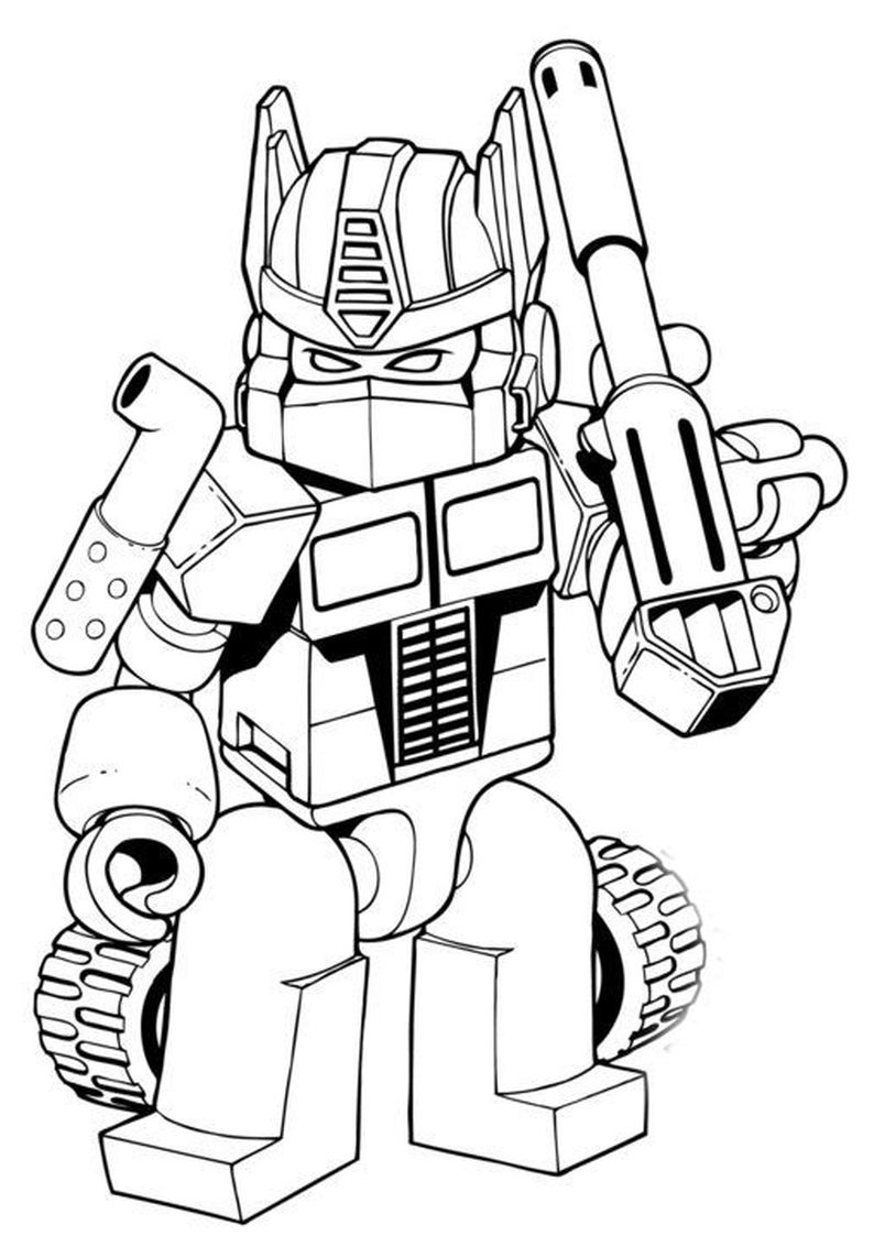 Pin Od Magda Wojnarowicz Na Star Wars Transformers Coloring Pages