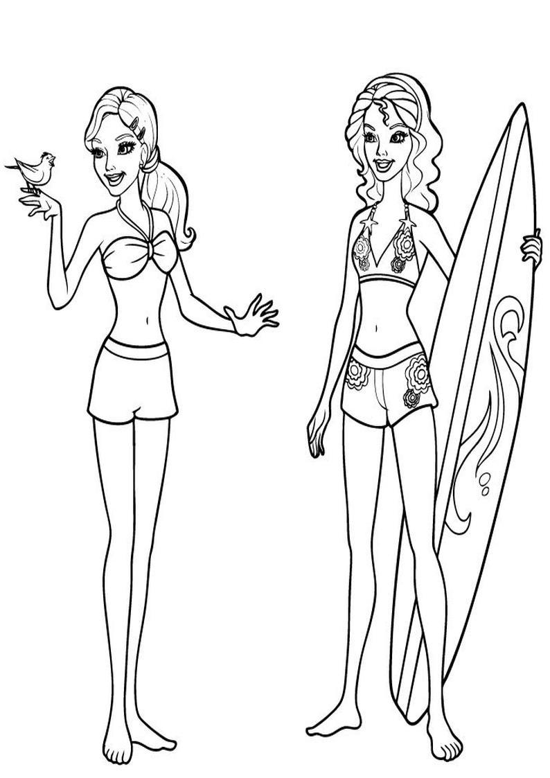 Kolorowanki Barbie Podwodna Tajemnica Malowanka Do Wydruku Nr 11