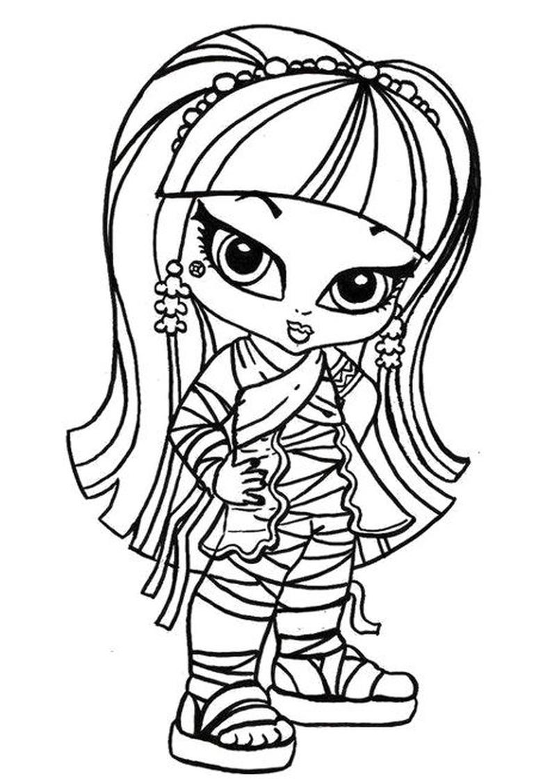 Kolorowanki Monster High Do Wydruku I Pomalowania Dla Dzieci