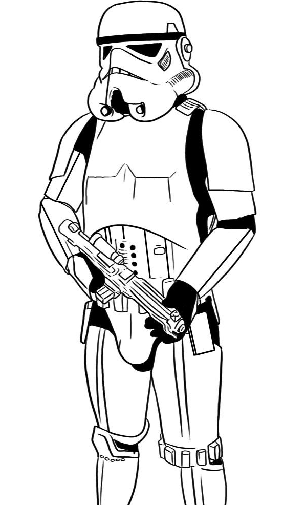 first order stormtrooper coloring pages - photo#31