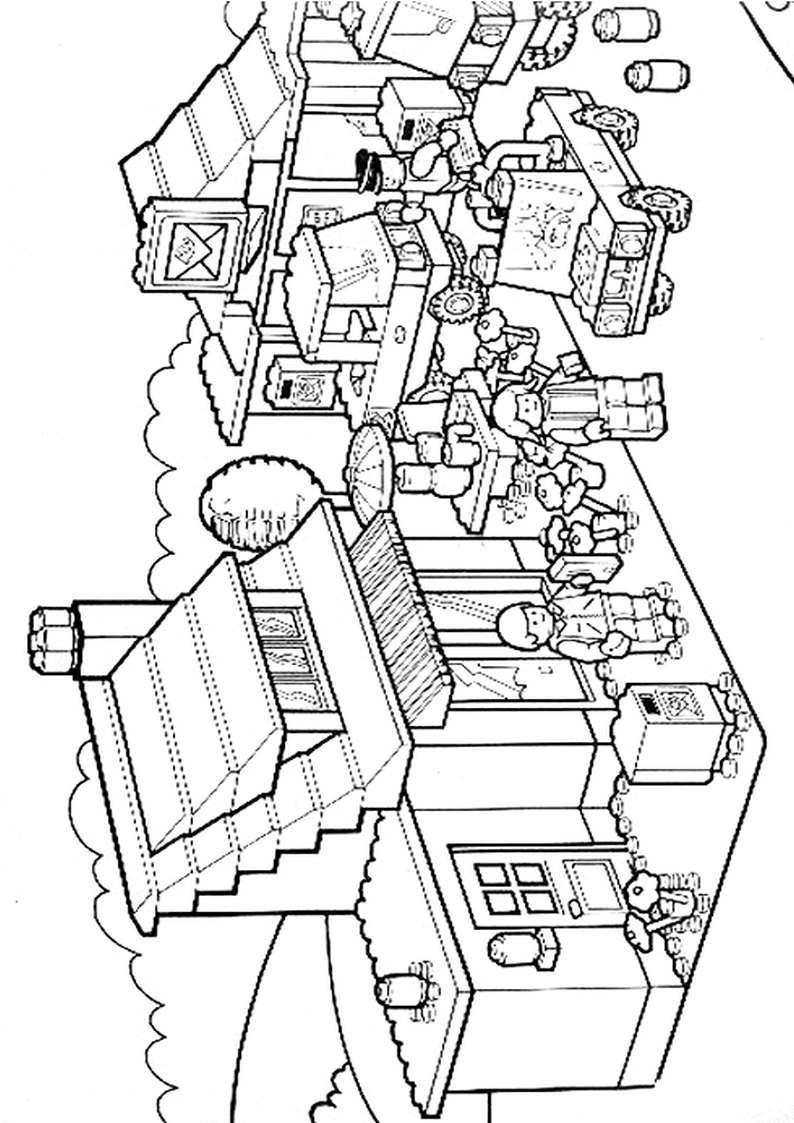 Do Wydruku Kolorowanka Lego City 1