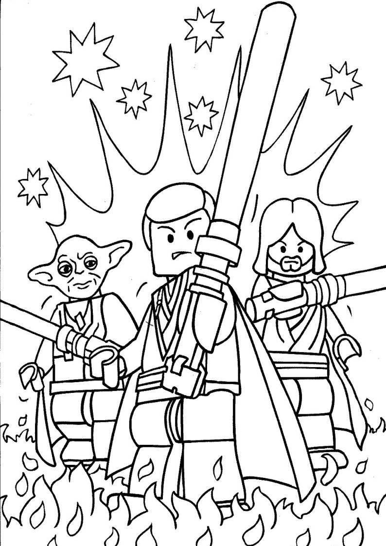 Do Wydruku Kolorowanka Lego Star Wars 2