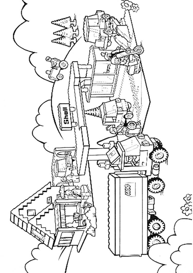 Do Wydruku Kolorowanka Lego City 24