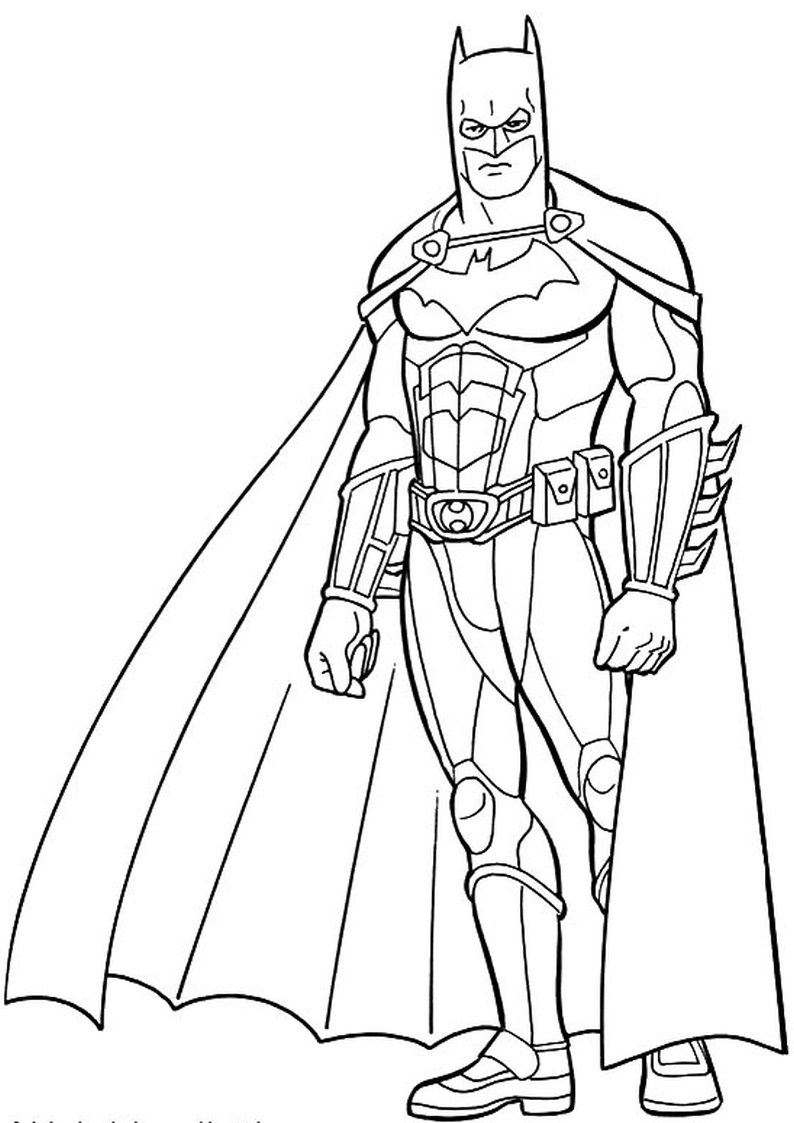 Kolorowanka Batman Nr 8
