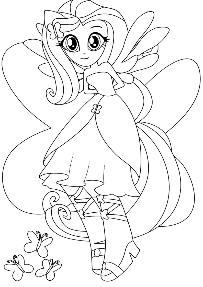 Rainbow Rocks Coloring Pages