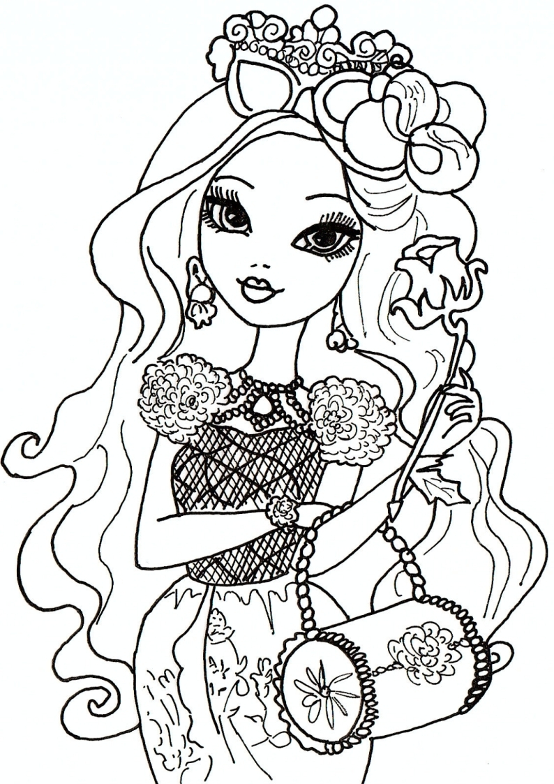 Printable Coloring Pages Of Ever After High Briar Beauty