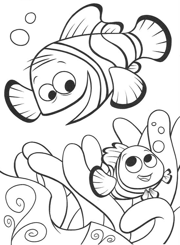 Kolorowanka Gdzie Jest Nemo Malowanka Do Wydruku Nr 2