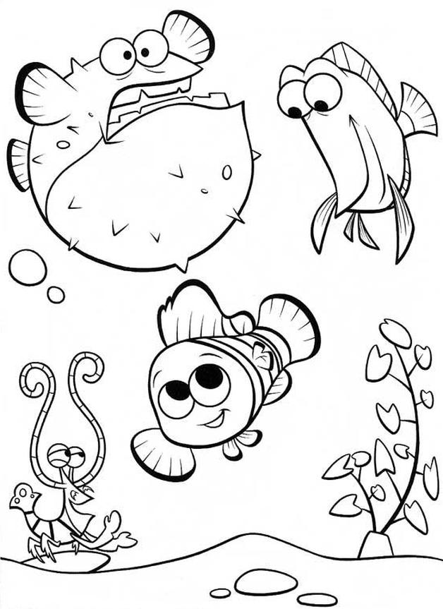 Kolorowanka Gdzie Jest Nemo Malowanka Do Wydruku Nr 37