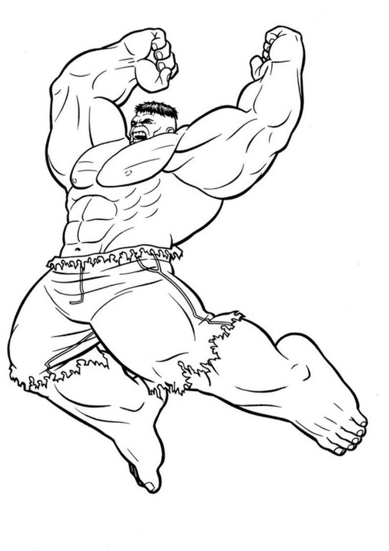 Znalezione Obrazy Dla Zapytania Obrazki Do Kolorowania Hulk