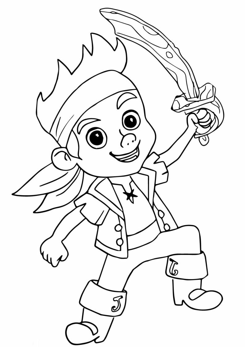 Pirat Kolorowanka Dla Dzieci Do Druku Osesek Pl