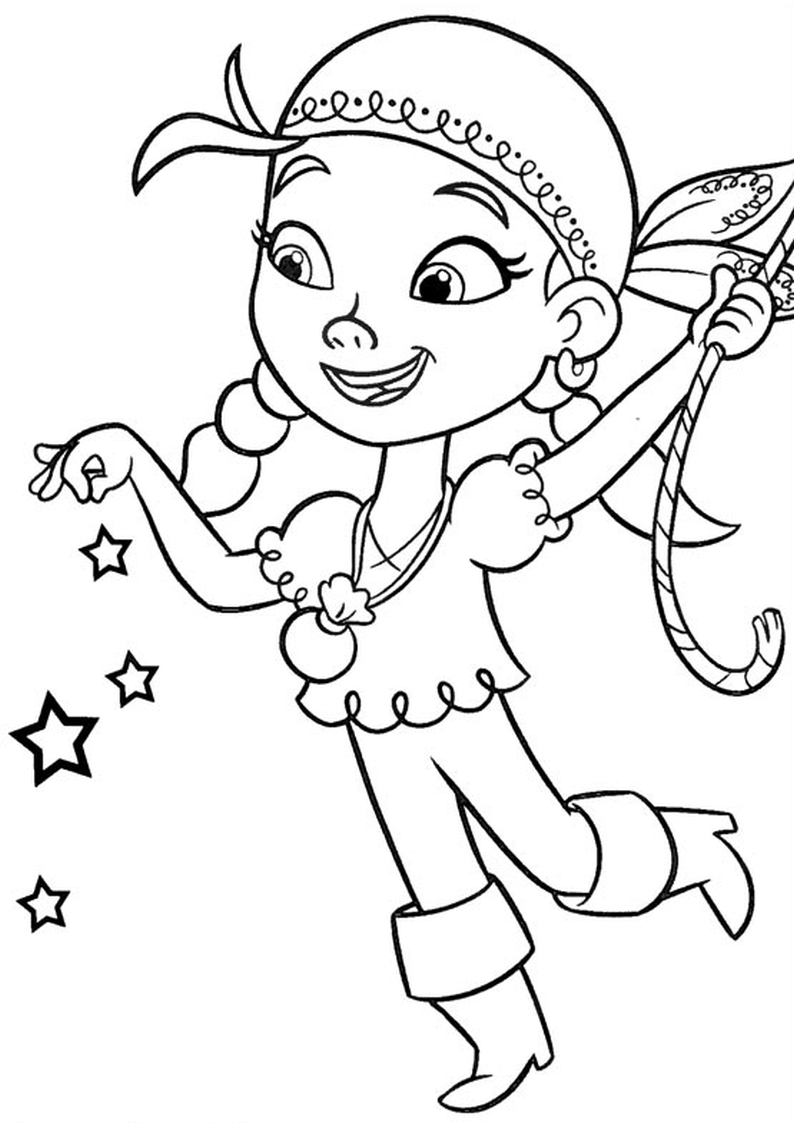 Jake The Neverland Pirate Coloring Pages