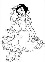 Kolorowanki Krolewna Sniezka Disney Malowanki Do Wydruku