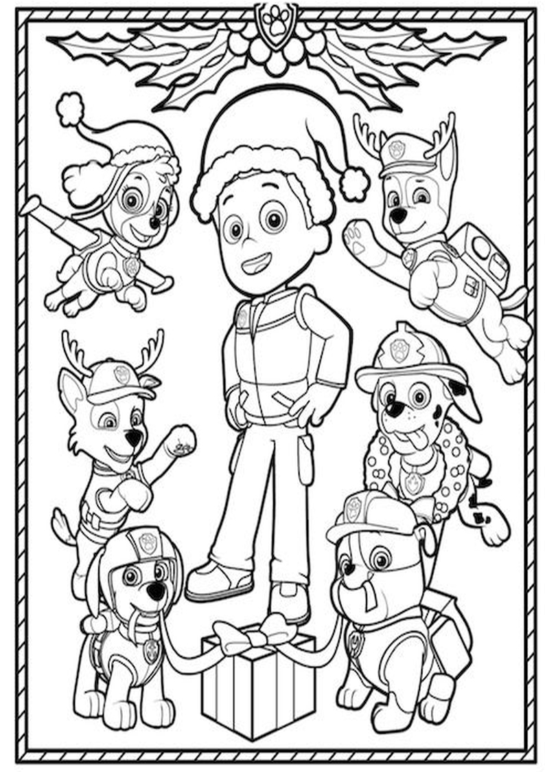 Holiday Coloring Pages Nick Jr Halloween Kolorowanki Z Bajek Psi Patrol Car
