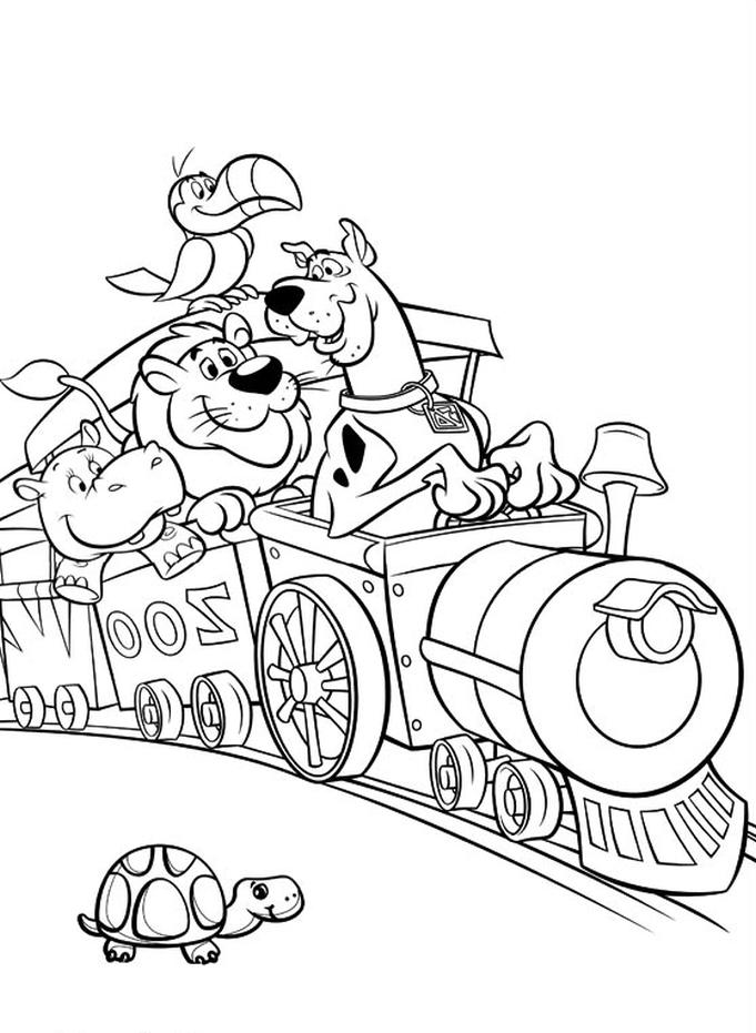 Kolorowanka Scooby Doo Malowanka Do Wydruku Nr 15