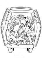 Kolorowanki Scooby Doo Malowanki Do Wydruku