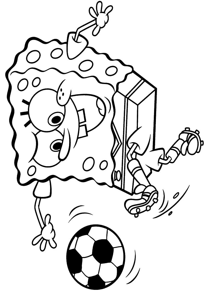 Kolorowanka Spongebob Kanciastoporty Malowanka Do Druku Nr 14