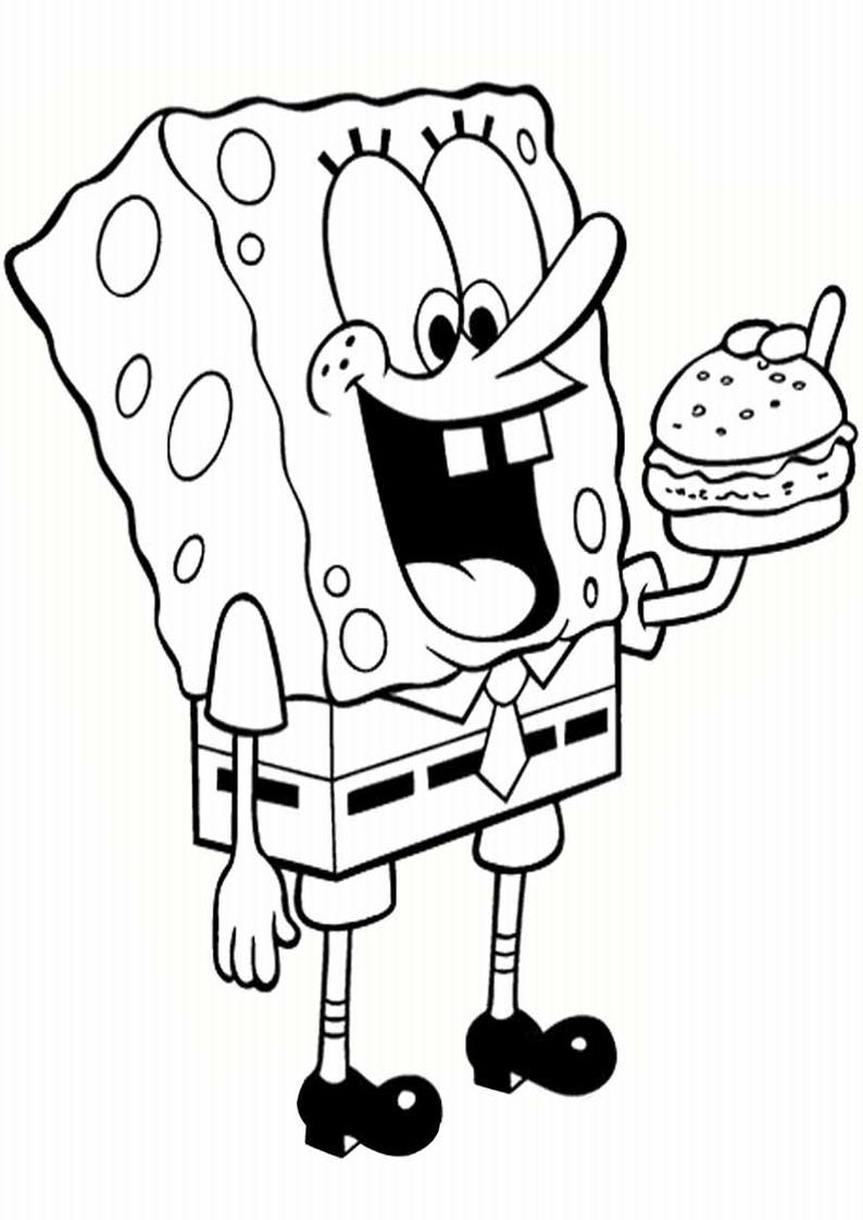 Kolorowanka Spongebob Malowanka Do Druku Nr 21