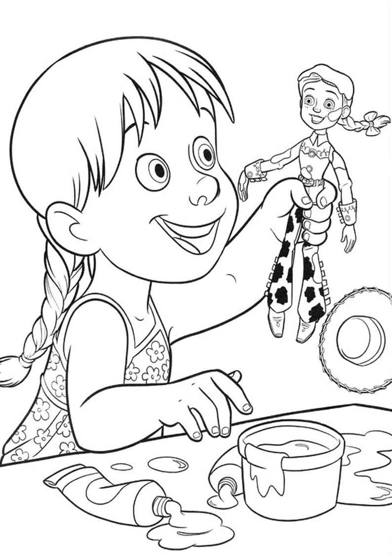 coloring pages for kids disney channel | Emma Jessie Disney Channel Coloring Pages Sketch Coloring Page