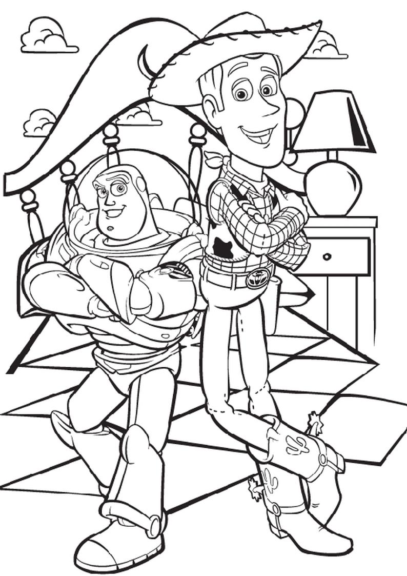 Kolorowanka Toy Story Nr 29