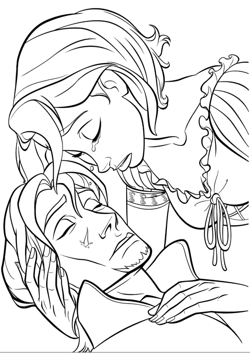 coloring-pages-disney-tangled