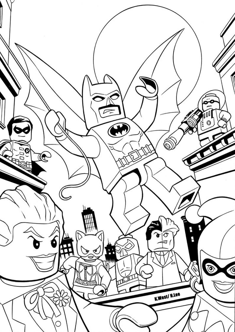 Kolorowanka Lego Batman Do Wydruku Nr 20
