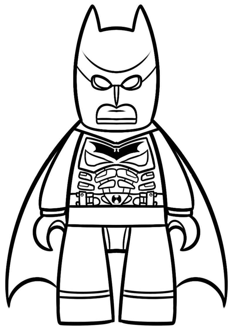 Kolorowanka Lego Batman Do Wydruku Nr 42