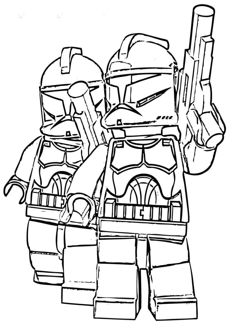 Kolorowanka Lego Star Wars Nr 10