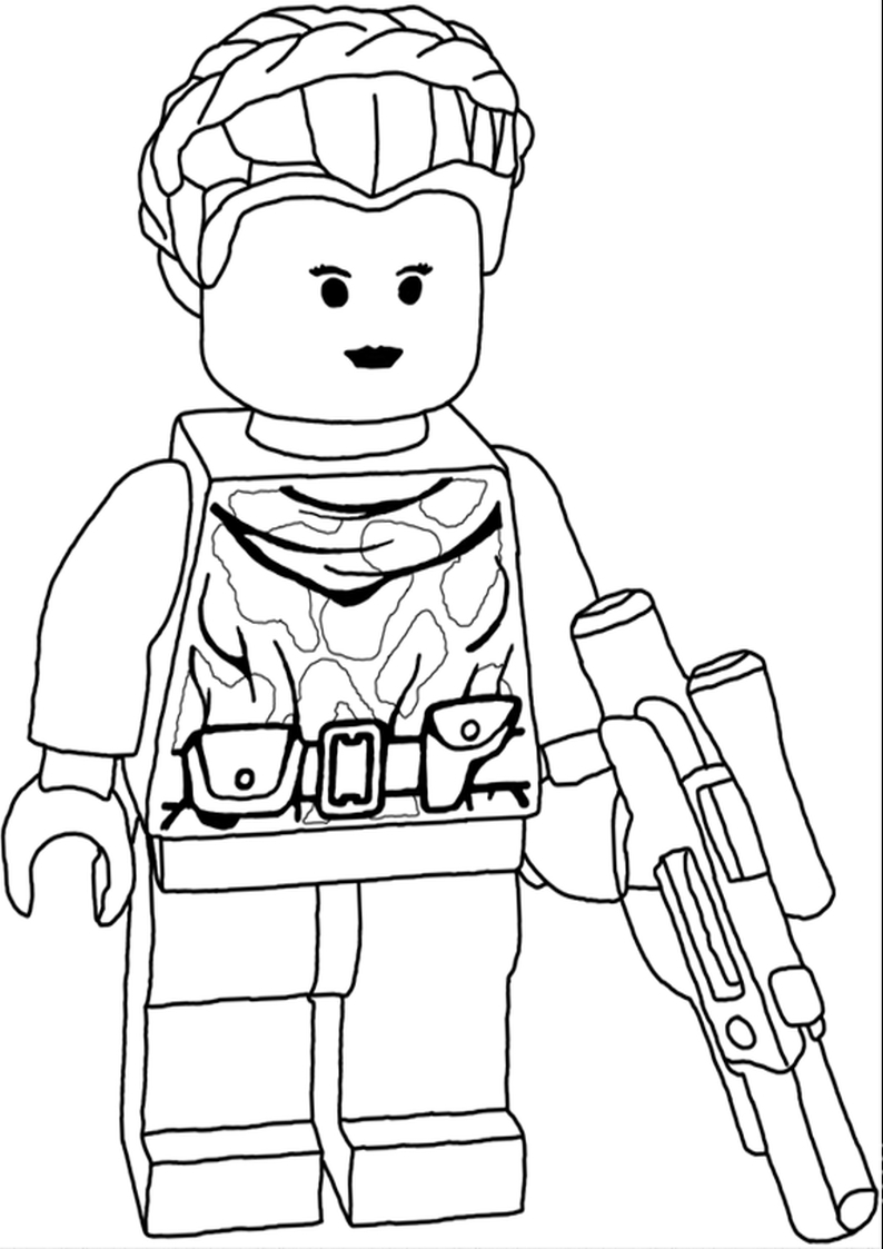 color pages lego star wars lego star wars boba fett coloring page