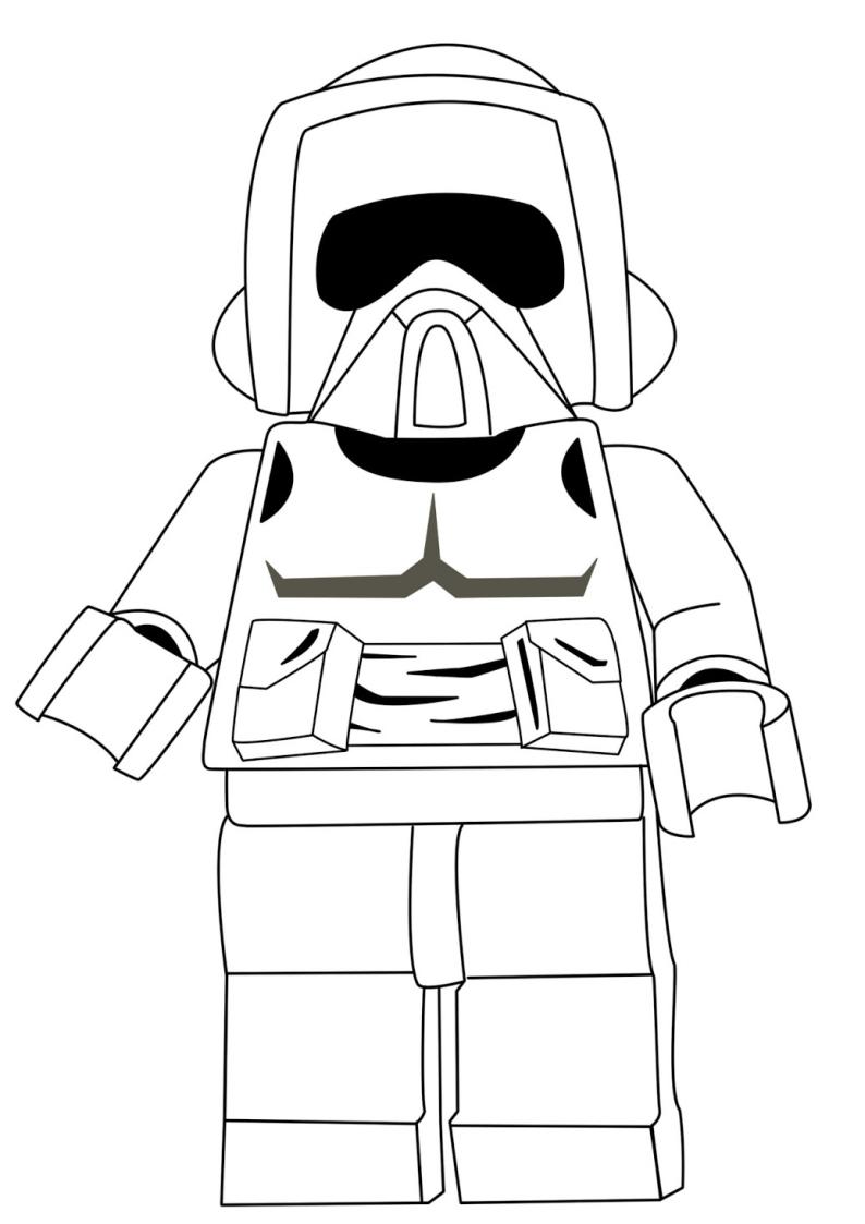 Kolorowanka Lego Star Wars Nr 20