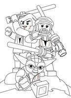 Kolorowanki Lego Star Wars Dla Chlopcow