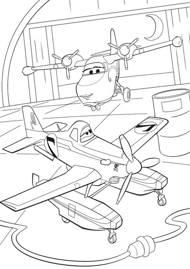 Malowanka Samoloty 2 Disney Kolorowanka Nr 22