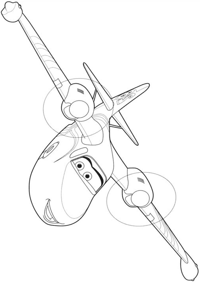 Malowanka Samoloty 2 Disney Kolorowanka Nr 29