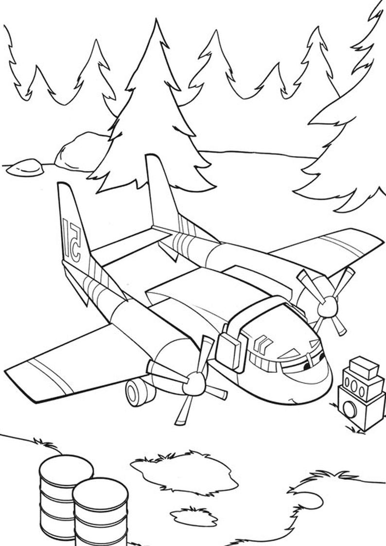Malowanka Samoloty 2 Disney Kolorowanka Nr 30