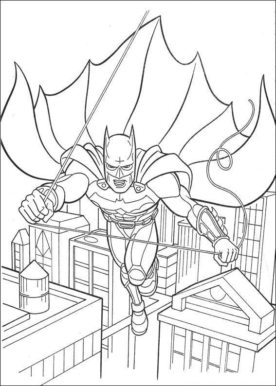 Kolorowanki Batman Malowanki Do Wydruku