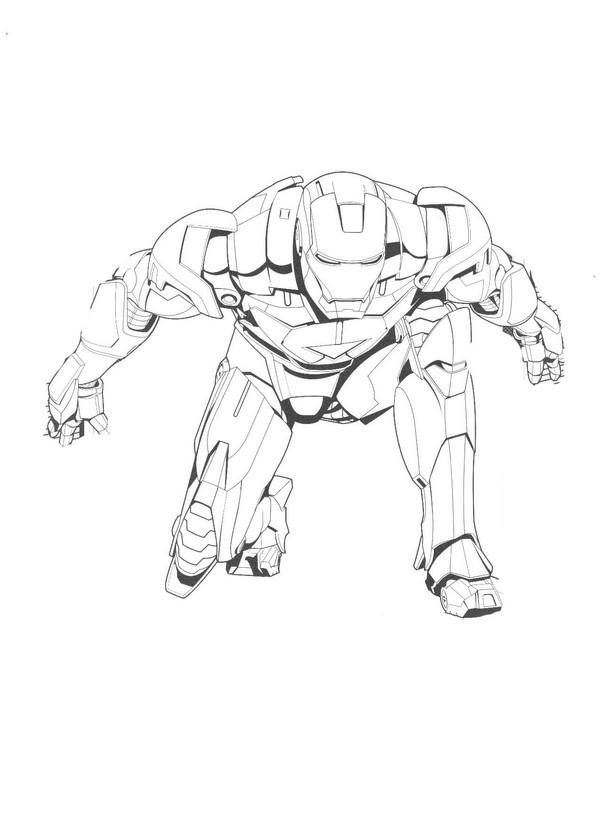 Kolorowanki Iron Man Malowanki Do Wydruku Marvel